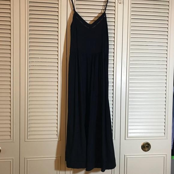 c198b83b43a0 Old Navy Dresses   Black Fit And Flare Cami Midi Dress   Poshmark